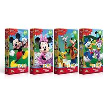Kit 4x Quebra-cabeças Mickey Disney (9494+9495+9496+9497)*