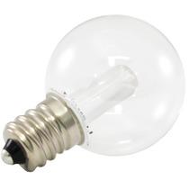 25pk - Premium Grade Globe Led G30 0.5w 120v E12 5500k Branc