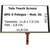 Tela Touch Screen , Gps Foston Fs-583dcv 5 Polegadas