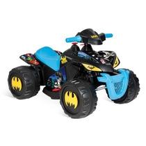 Quadriciclo Elétrico Infantil Batman 6v P/menino Bandeirante