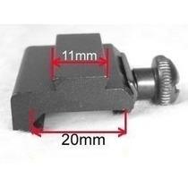 Adaptador Trilho 20mm Para 11mm - Mount Red Dot Scope