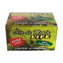 Óleo De Menta Life 12 Unidades + Brinde