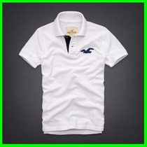 Kit 5 Camisa Polo Masculina Hollister - Abercombie - Lacoste