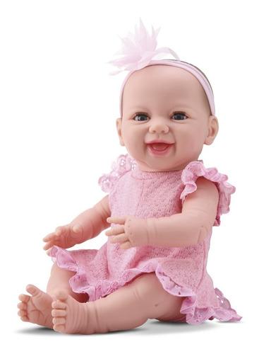 Lançamento Boneca Bebê Estilo Reborn Menina Dengo 8076