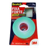 Fita Dupla Face Espuma 25mm X 2m Fixa Forte Extrema 3m