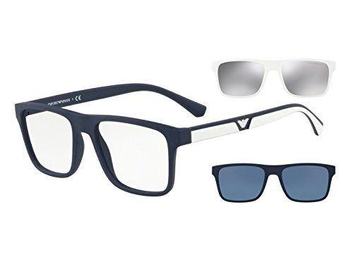 0968234f26026 Armação Óculos De Grau Clip On Emporio Armani Ea4115 5669 1w