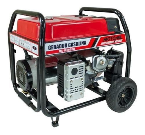 Gerador Portátil Motomil Mg10000cle Monofásico Com Tecnologia Avr 115v/230v