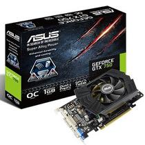Placa Vídeo Asus Nvídia Geforce Gtx 750 1 Gb 128 Bits