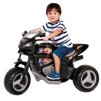 Moto Elétrico 6 Volts Max Turbo Preta - Magic Toys