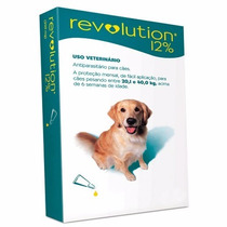 Anti Pulgas Revolution Para Cães De 20,1 Á 40 Kgs