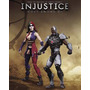 Dc Collectibles Injustice Cyborg Vs Harley Quinn
