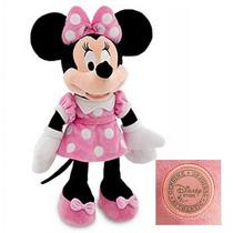 Pelúcia Minnie Rosa Original Disney 50cm - Frete Grátis!