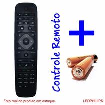 Controle Remoto Tv Led/lcd Philips *novo*c/pilhas