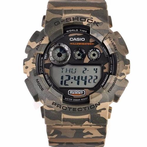 efe0f5e8a4d Relógio Casio G-shock Camuflado Gd-120cm-5dr 12x S Juros