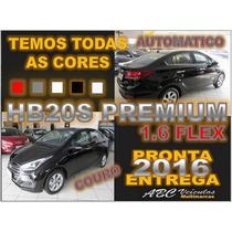 Hb20 Sedan Premium 1.6 Flex Automatico - Ano 2016 - Zero Km
