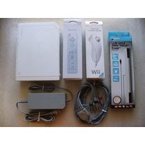 Wii + Cabo Video Componente + Controle! Funciona Game Cube!