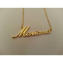 31900b094cce2 Busca Colar com nome Mariana com os melhores preços do Brasil ...