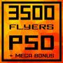 3500 Banners/flyers/panfletos Templates Psd Editáveis