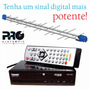 Kit Conversor Digital Hdtv Tomate + Antena Pro Log E Pq-1040