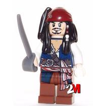 Lego Original - Boneco Jack Sparrow - Piratas Do Caribe