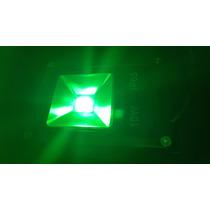 Refletor Slim Super Led - Holofote Verde 10w Ip65 Bivolt