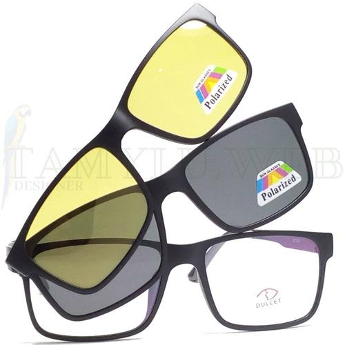 7131a959e Armação Óculos Clip On Night Drive Solar Polarizado Promoção à venda em  Vila Maria São Paulo Zona Norte São Paulo por apenas R$ 79,50 -  CompraMais.net ...