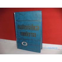 Livro Enciclopédia Ginasial Ilustrada Matemática Moderna- Fj