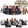 Star Wars Darth Vader C3po Chewbacca Sith Anakin = Lego