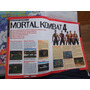 Nintendo 64/play1 Revista/manual/detonado Mortal Kombat 4 Original