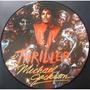 Lp Picture Disc Michael Jackson Thriller Promo  Novo Raro