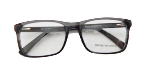 Armação P  Óculos De Grau Masculino Empório Ea3121 Cinza - R  120 en ... 90ce5fa84d