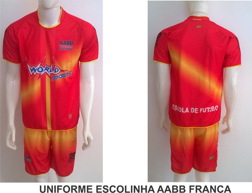3ddc6da5e5 Jogo De Camisa E Calção Futebol Chacara Futsal 16cnj