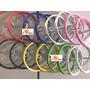 Par De Rodas De Alumínio Aro 16 Infantil Montada Bicicleta