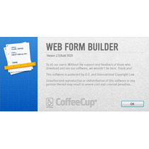 Coffeecup Web Form Builder V2.9 Build 5525