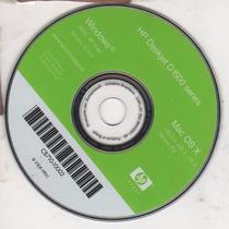 Cd De Instalação Para Impressora Hp Deskjet D1560-d1530-...