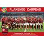 Poster Flamengo Campeão 2014 Alta Qualidade 90x60