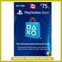 Playstation Network Card $75 Dólares Canadenses Psn Cad 12x