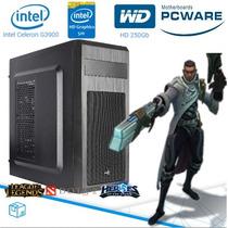 Cpu Pc Gamer Intel G3900 2.8 Ghz Dual-core 4gb Graphics 510