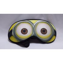Máscara Para Dormir Minions Repouso Tapa Olho Viseira