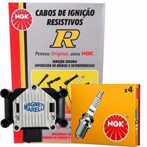 Kit Cabos + Velas + Bobina Bora Golf Beetle Polo 2.0 (novo!)