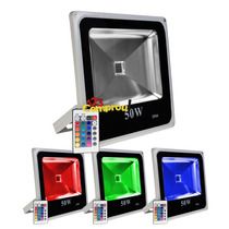 Refletor Holofote Led Rgb 50w Ip65 Bivolt - Pronta Entrega