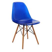 Cadeira Eames Madeira Sem Braço Pc Or 1101 B Pc