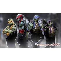 4 Bonecos Tartarugas Ninja Filme 2014