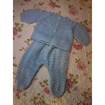 Roupa De Bebê - Casaquinho Com Calça