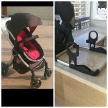 Carrinho Urban Da Chicco + Bebê Conforto C/ Base + Adaptador