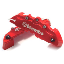 Capa Pinça De Freio Brembo - Par Pequeno - 3d Red Vermelho