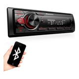 Som Automotivo Mp3 Player Pioneer Mvh-s218bt Bluetooth Usb