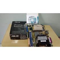 Placa Mãe Asus P5pe Vm + Dual Core + Cooler Box