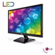 Monitor Led Barato Lg Com Tela 19,5    - 20m37aa