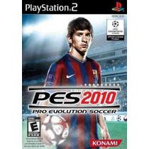 Patch Pes 2010 Pro Evolution Soccer 2010 Ps2 Frete Gratis